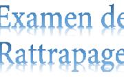 Calendrier des Examens  de Rattrapage Finaux  du S1