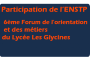 Participation de l'ENSTP