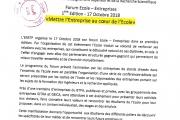 Forum École-Entreprise 2018