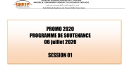 Planning Soutenances 2019/2020 Session 1 DMS