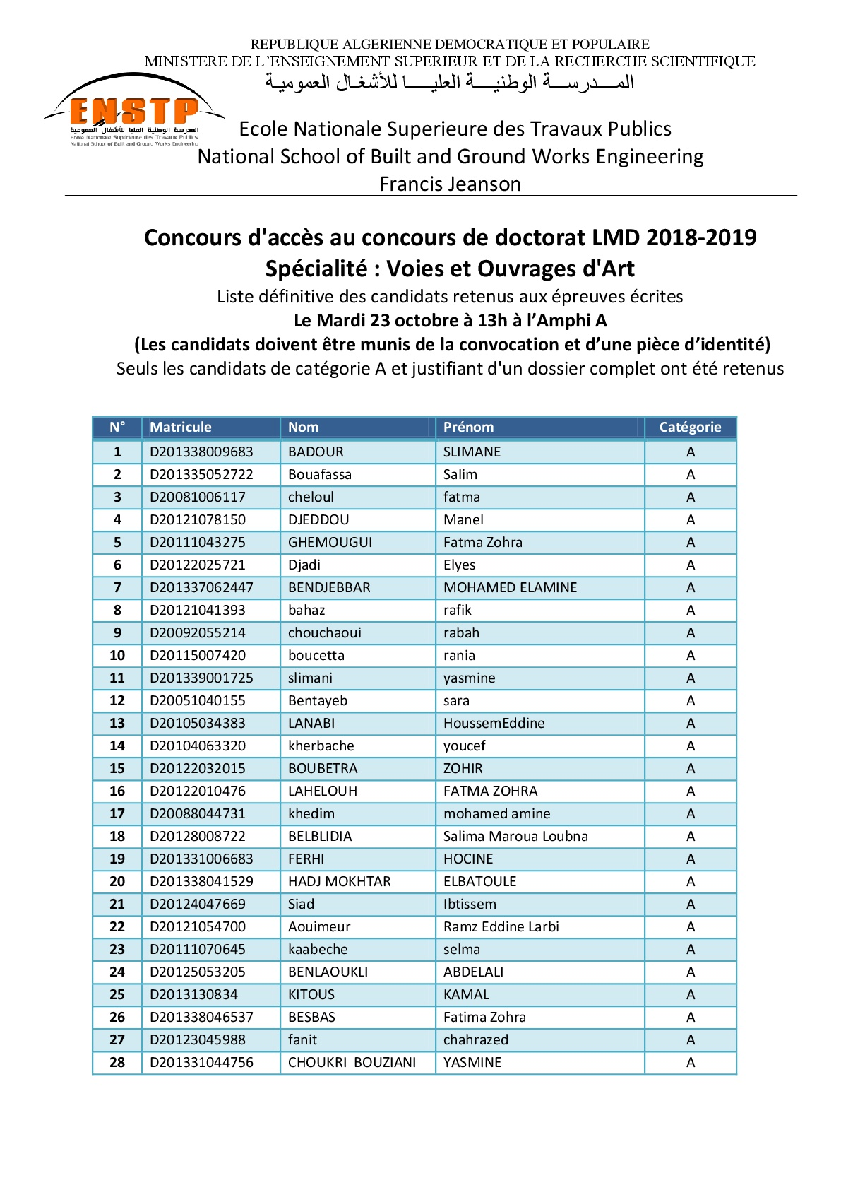 Candidature doctorat retenus apres recours 001